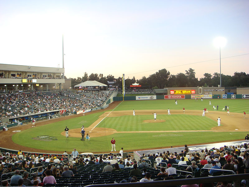Raley Field Home to the Sacramento River Cats